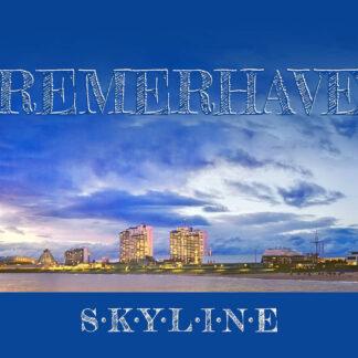 Produkt Postkarte »Bremerhaven Skyline« © 2020 Adrian Wackernah