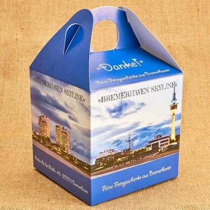 Produkt Geschenkbox »Bremerhaven Skyline« © 2020 Adrian Wackernah